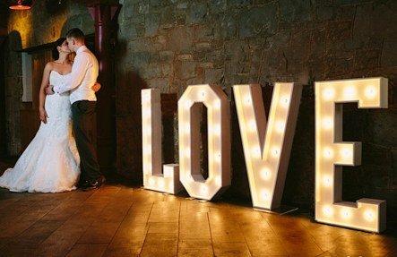 HIT!Podświetlany napis LOVE na wesele!Spiesz się i zamów!