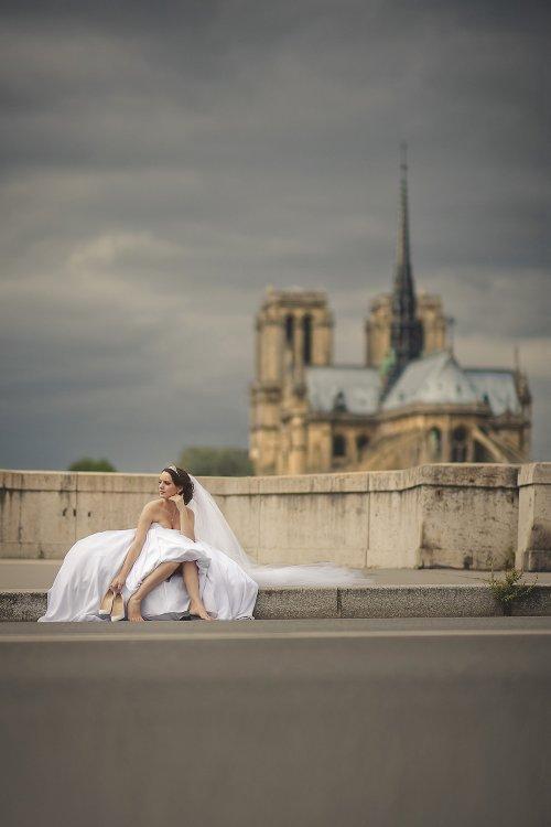 Sesja narzeczenska   promocja Paryz