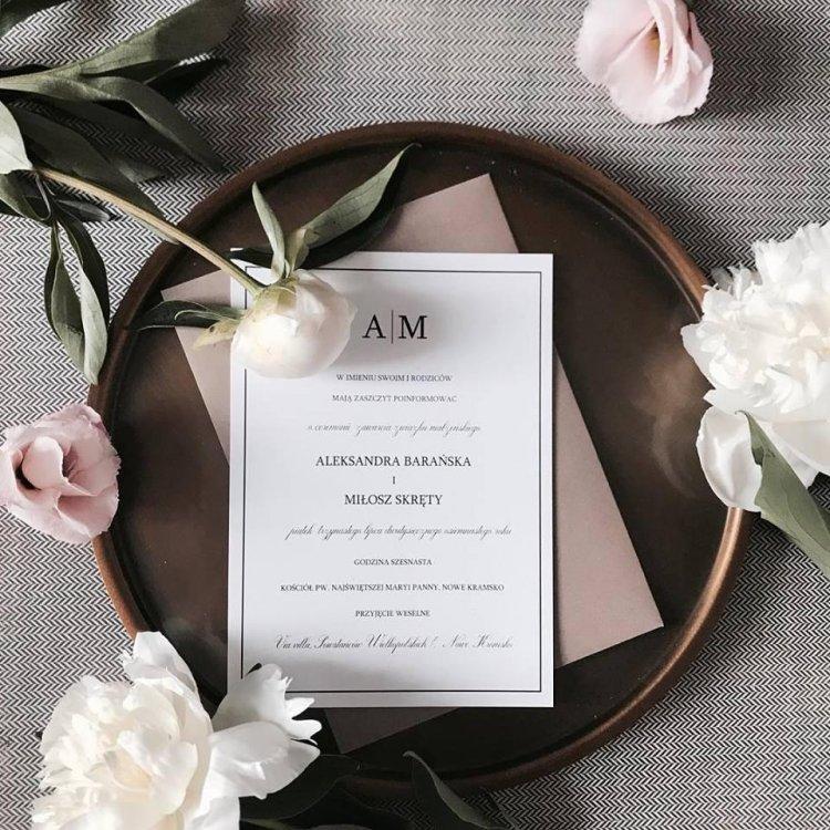 Ślubna klasyka czyli biel i czerń