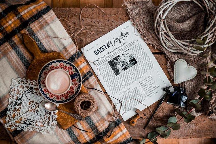 Spersonalizowana Gazeta Weselna | Atrakcja na ślub