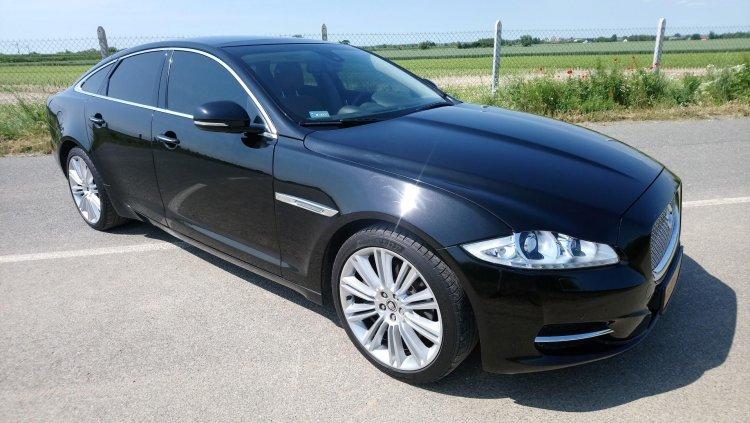 Jaguar Xj na ślub Kraków i okolice