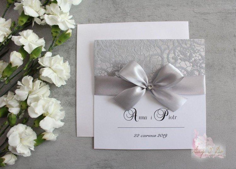 Zaproszenie na ślub - ParisElegance