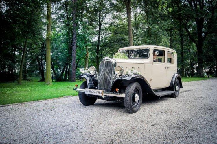 auto do ślubu zabytkowe śląsk