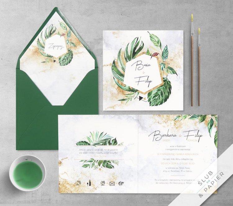 Zaproszenia ślubne i dodatki weselne - Ślub i Papier