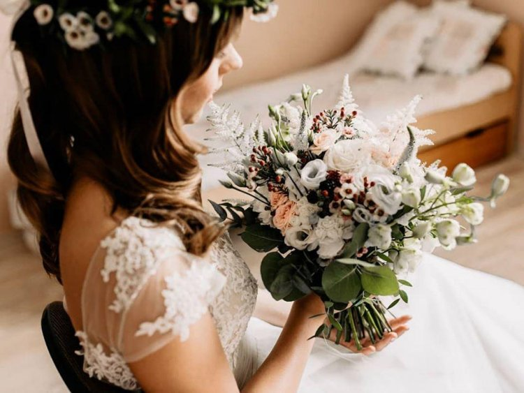 Naturalna oprawa florystyczna Waszego ślubu i wesela