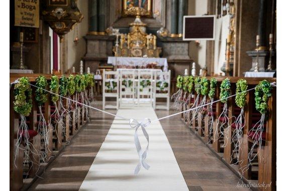 Dekoracje ślubne Dekoracje weselne Uroczyste Dekoracje