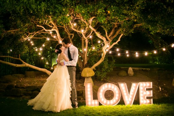 HIT!Podświetlany napis LOVE na wesele!Spiesz się i zamów! Dekoracje SAY I DO