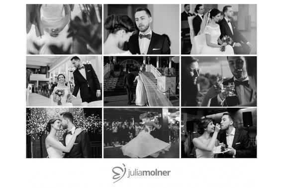 Reportaż fotografii ślubnej Reportaż ślubny Julia Molner FOTOGRAFIA