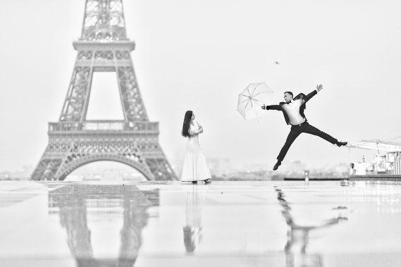 Sesja narzeczenska   promocja Paryz Sesja ślubna