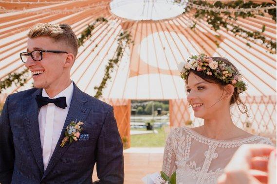 Organizacja ślubu w plenerze i wesela w jurcie Organizacja ślubów Małgorzata Nawracaj Harmony