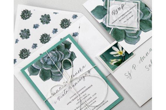 Zaproszenia ślubne | Pracownia Celegarth Zaproszenia Pracownia Celegarth
