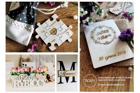 Kreatywna pracownia TADAM Dekoracje weselne