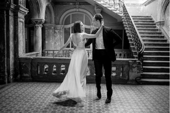Film ślubny - romantyczny i subtelny Filmowanie ślubów
