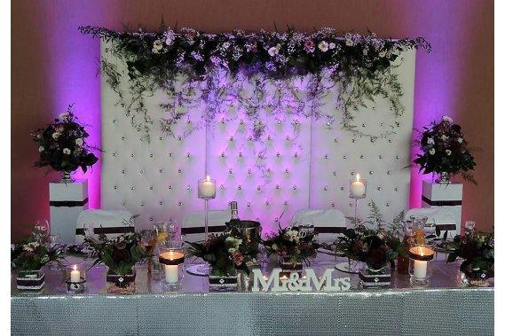 Dekoracje sal weselnych Dekoracje weselne Magic Time Organizacja i Dekaracja Imprez