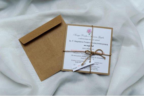 Zaproszenia ślubne Zaproszenia studiokamart