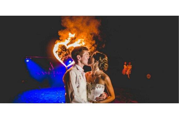 Nam-Tara | Teatr Ognia | Fireshow | Płonące serce Teatr ognia Nam-Tara | Teatr Ognia | Fireshow | Lightshow | Taniec z ogniem