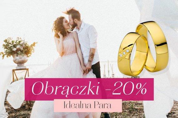Obrączki Ślubne -20% Dodatki Marko