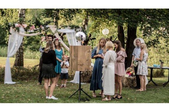 ❤️ DREWNIANA ❤️ Fotobudka, wyjątkowy styl na każdą okazję Fotobudka CUDNIE Studio