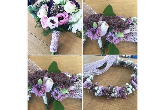 Florystyka ślubna - zapraszamy do rezerwacji terminów Dekoracje kwiatowe Malinowe Skarby
