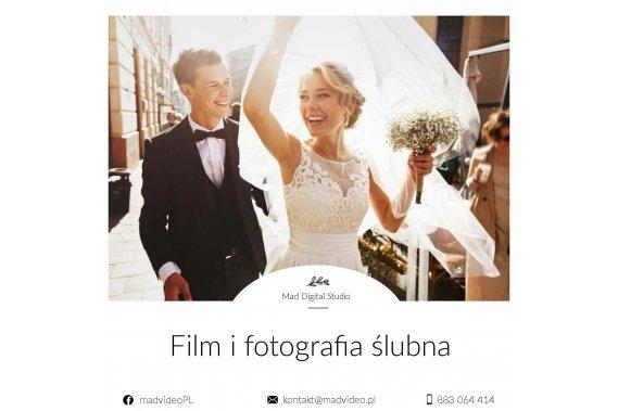 Mad Digital | FILM | FOTO | DRON | WOLNE TERMINY 2019/20 Filmowanie ślubów Mad Video Studio