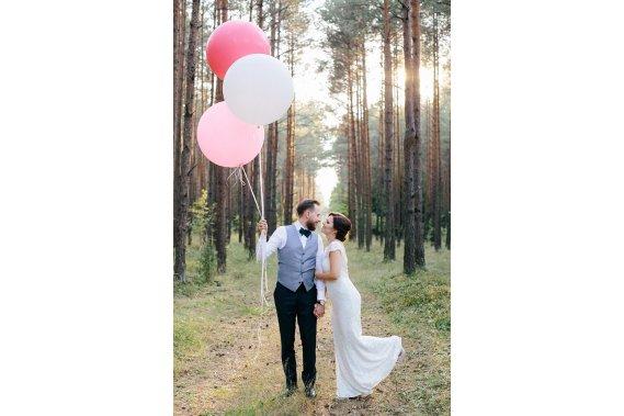 Romantyczna sesja plenerowa Sesja ślubna