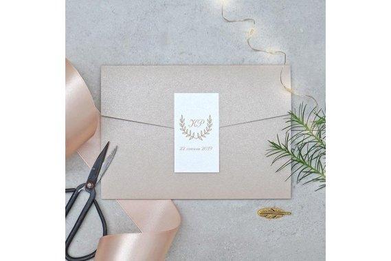 Classic Beige – Zaproszenia Ślubne Zaproszenia Pracownia_MerryMe