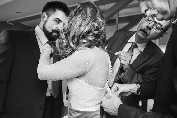 Fotoreportaż z dnia ślubu Reportaż ślubny
