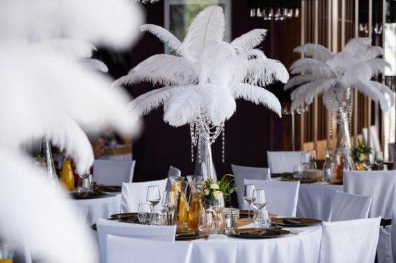 Wielki Gatsby Dekoracje weselne MagEvents