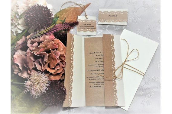Kartkofaktura Zaproszenia Kartkofaktura