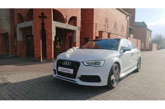 Białe Audi do ślubu / Śląsk / Małopolska Limuzyny Wedding White Car