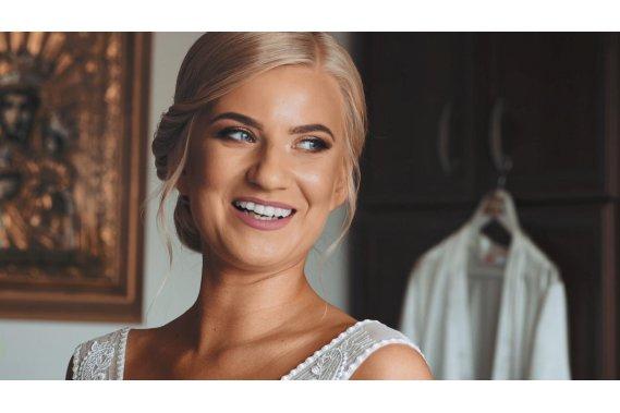 Nowoczesny film ślubny w stylowej formie Filmowanie ślubów Makrowizja Studio