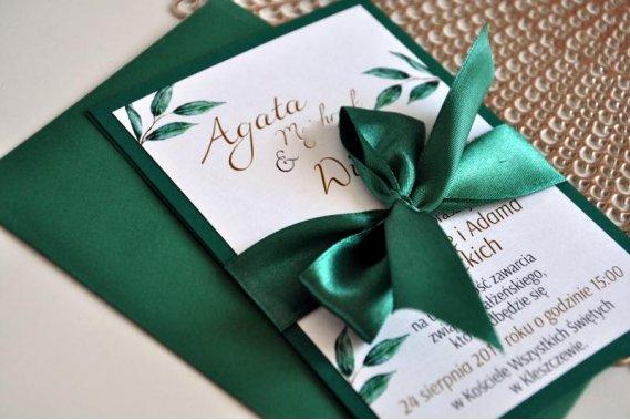 Zaproszenia. Dodatki ślubne. Zaproszenia Stylove Dekoracje