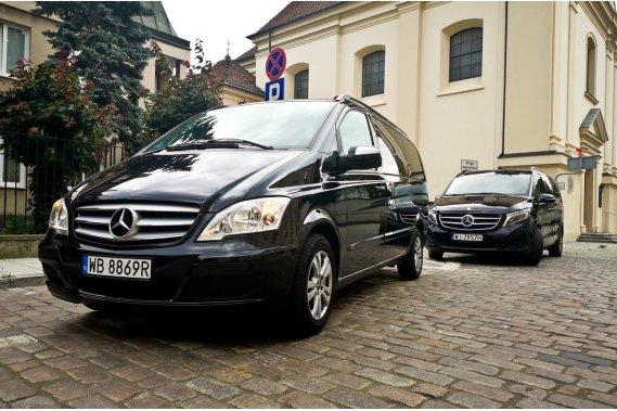 Komfortowe vany dla gości Transport WK Transfers Wojciech Kapusta