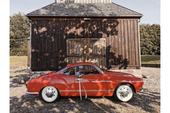 Wedding Wagen - auto do ślubu Zabytkowe Wedding Wagen - Karmann Ghia do ślubu