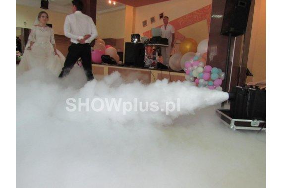 Wytwornica ciężkiego dymu na pierwszy taniec Ciężki dym i efekty SHOWplus