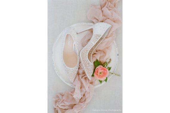Elsa Ivory Buty damskie YES, I SHOE! Wedding Shoes