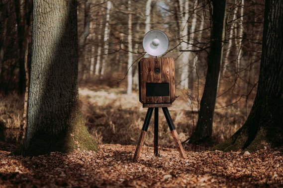 Drewniana fotobudka | BOHO | RUSTYKALNA | NATURALNA Fotobudka Dawid Jasionowski