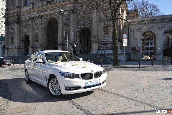 Ale Doskonale! AUTO DO ŚLUBU BMW GT F34 - WARSZAWA Limuzyny