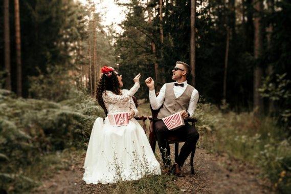 Focus on Light -  film i fotografia w stylu cinema-boho Filmowanie ślubów Focus on Light