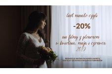 LAST MINUTE w Studio Pstro to -20% na filmy z plenerami