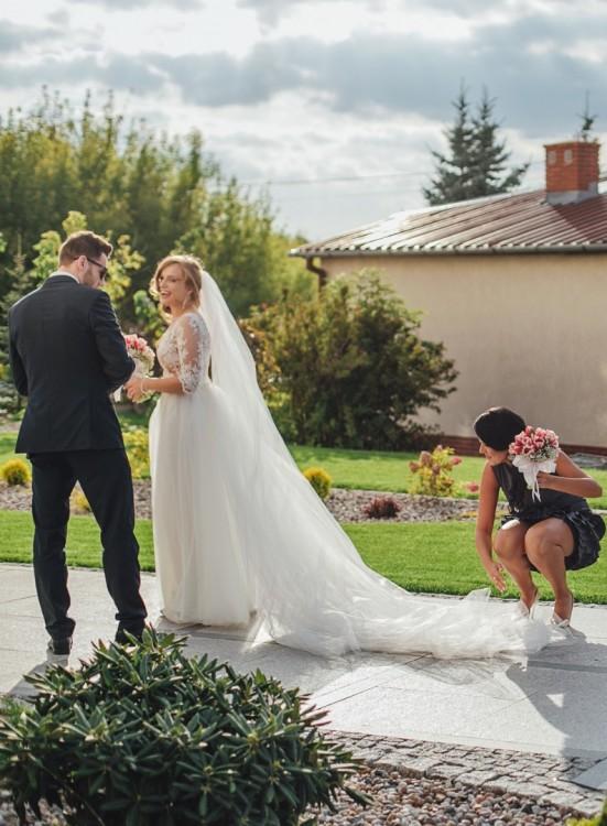 Suknie Romantyczna Suknia ślubna Projektu Sylwii Kopczyńskiej 1