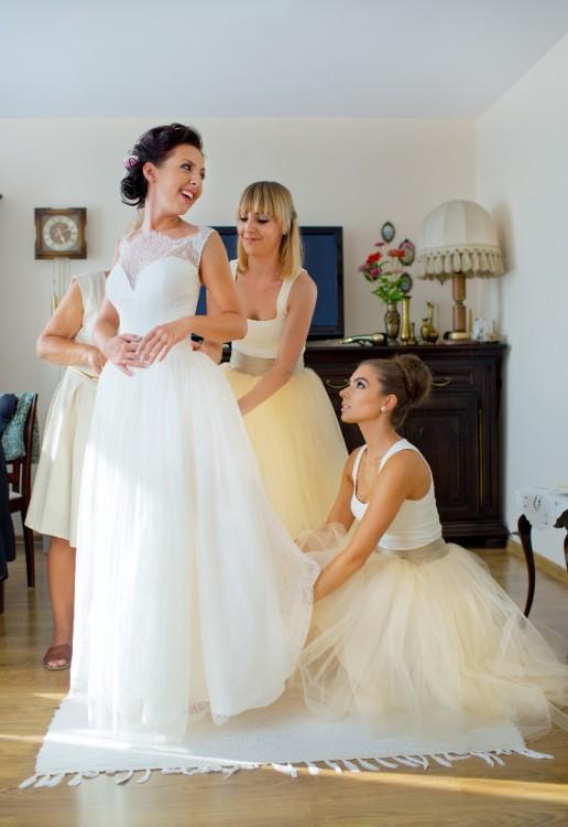 Suknie Romantyczna Suknia ślubna Z Atelier Novia Blanca 1 99900zł