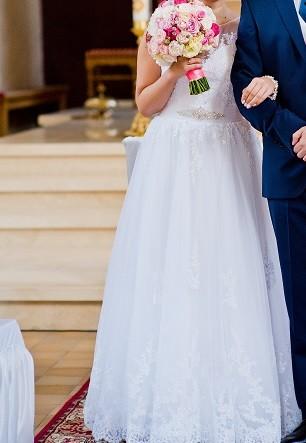 f5d5d01056 Suknie - Przepiękna suknia ślubna - 1 000