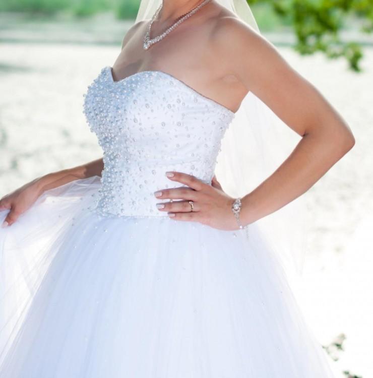 Suknie Piękna Suknia ślubna Typu Princessa 3638 80000zł