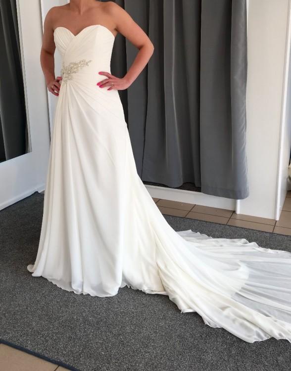 Suknia By o la la Foggia rozmiar 40/42 kolor ecru jak nowa