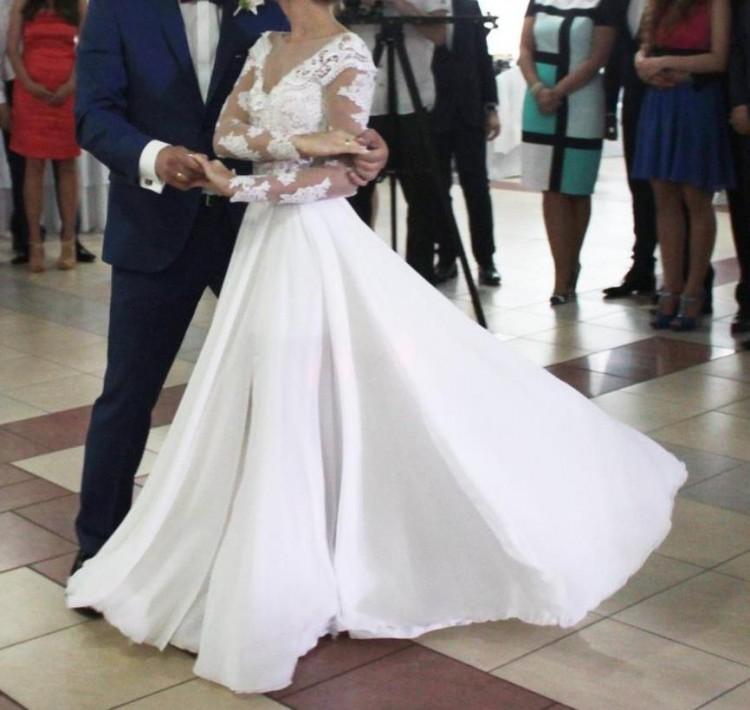 Suknie Suknia ślubna Millanova Z Podpinanym Trenem 1 60000zł
