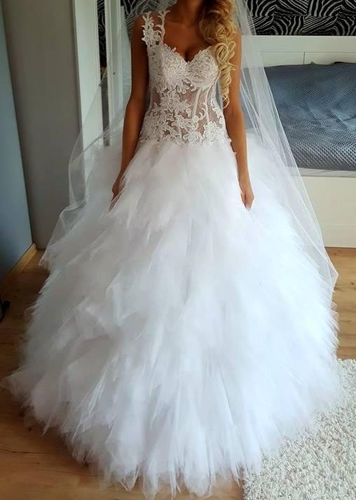 Suknie Suknia ślubna Agora 16 12 2 40000zł