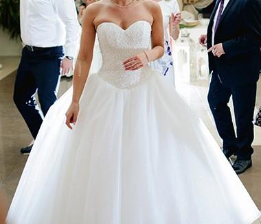 Suknie Przepiękna Ecru Suknia ślubna Typu Princessa 1 50000zł