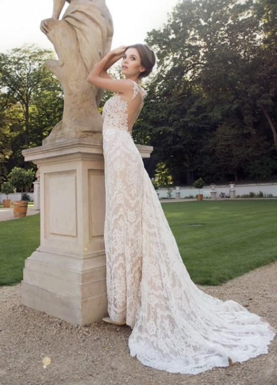 Suknia Ślubna Simone + długi welon