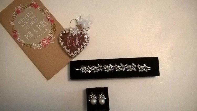 Biżuteria  Novia Blanca bransoletka i kolczyki